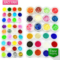 Free Shipping mix styles 3D Nail art Powder/ Acrylic nail powder/ gel nail Acrylic Glitter Powder #1610