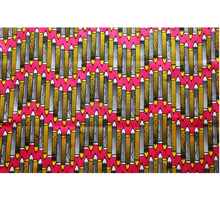 wholesale high quality 100% cotton ghana kente customer-made traditional batik fabric