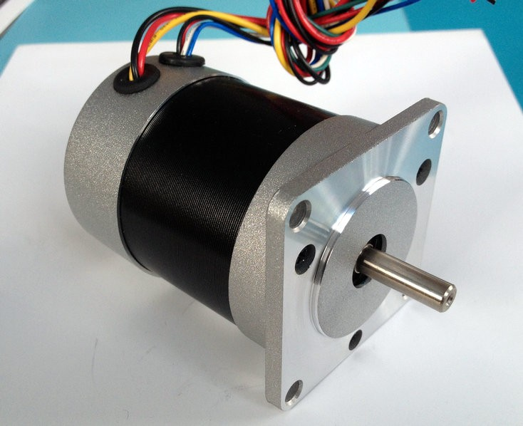 57mm customed 6 pole brushless dc motor 12mm shaft big for Large brushless dc motors
