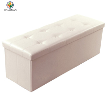 Outdoor Long Rectangular Upholstered Storage Elegant patio storage bench