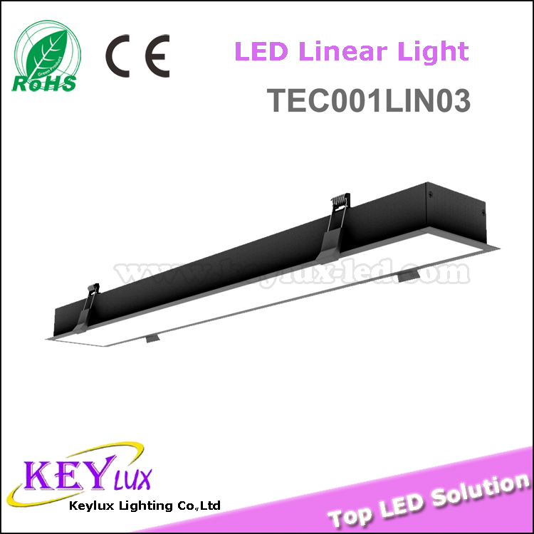 Hotel lamps led kitchen ceiling lights recessed downlight square Linear light