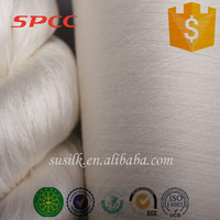 top quality fatcory wholesale knitting yarn silk 120nm/2 for weaving