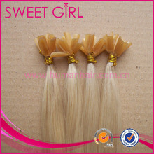 Fashion style 613 color blonde weave remy human hair