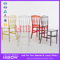 plastic modern wedding chair /banquet chair