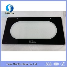 Glass factory 4mm 5mm heat resistant custom cut oven door tempered glass