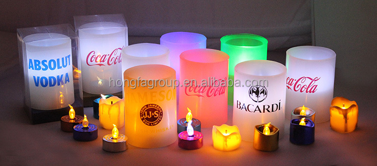 2015 Wholesale LED Pillar Candle