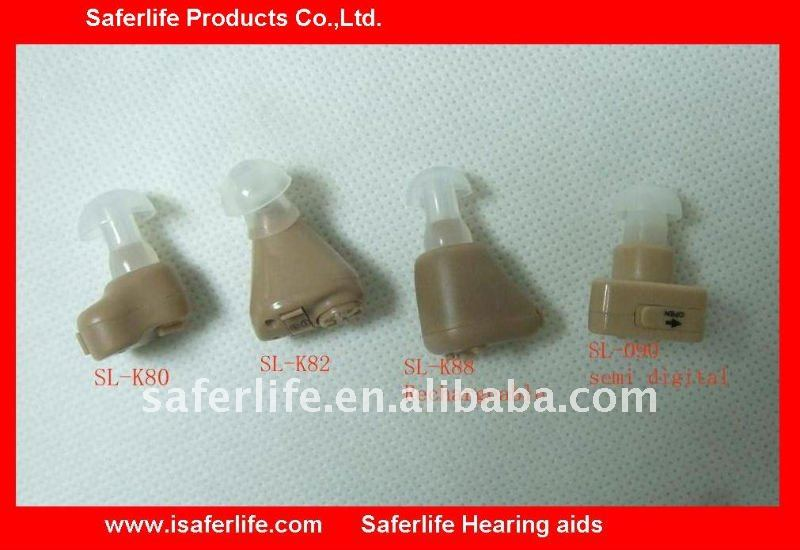 New Premium for Nursing HOME Recommended Analog ITE Hearing Aid Mini hearing aid In The Ear Hearing aid small MOQ
