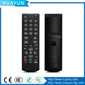 Custom LED mxq android tv box remote control with soft feeling rubber button