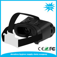 2016 Google cardboard VR BOX Version VR Virtual Reality Glasses + Smart Bluetooth Wireless Mouse / Remote Control Gamepad