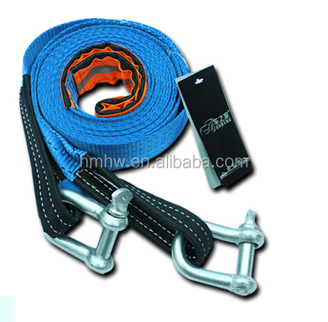 Towing Strap Type and CE GS ISO9001 Certification Heavy Duty Recovery Tow Strap