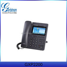 SIP VOIP Phone GXP2200 Enterprise IP Telephone Android 2.3 HD,PoE,GE ports,Bluetooth,Skype