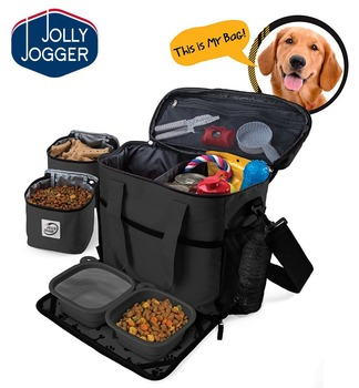 Outdoor travel Pet dog treat training waste bag food pouch