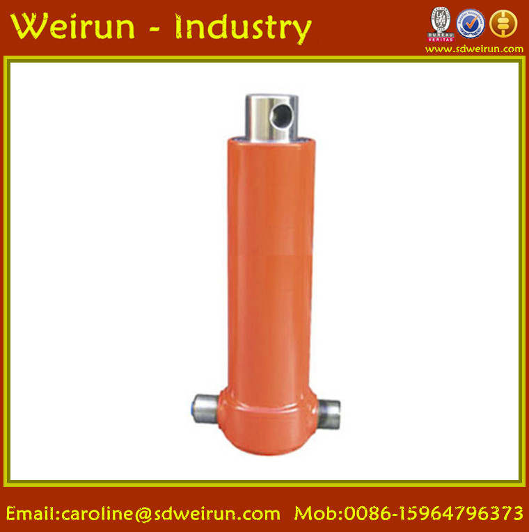 Manufacturer telescopic hydraulic cylinder and hydraulic power unit for tipper trailer