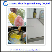 Fried mango/stawberry/watermelon/beans ice table& fried ice processing machine