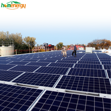 Solar System 80KW Flat Roof Solar Panel Mounting System Solar Systems For Industrial Use