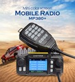 ZASTONE MP380+ 25w car base station mobile radio quad band transceiver hame radio