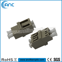 MM LC fiber optic adapter