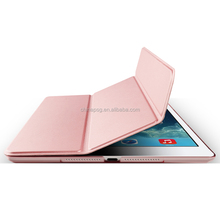 Cheap Ultra Slim Lightweight Smart Folding Smart Cover & Back Case pu leather Joy color tablet cover for Ipad pro 10.5