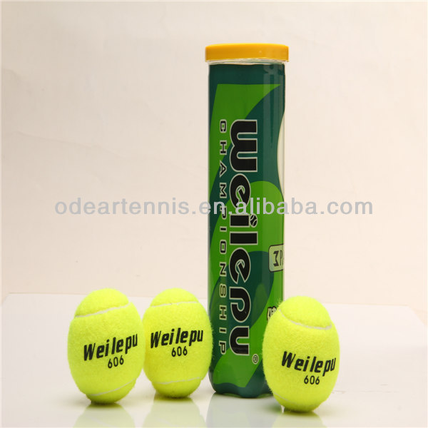 Cheap and custom printed tennis ball with factory tennis price