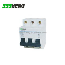 Isolation Function 3 Pole AC 400V DZ47-63 50A MCB Miniature Circuit Breaker