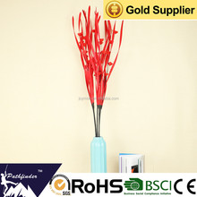Wholesale High Quality Artificial Red Wedding Dried Flower Arrangements for Decoration