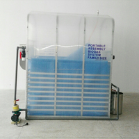 Hot sale China manufacturer mini assembly portable biogas digester