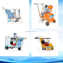 Self-propelled thermoplastic road line marking machine/hot melt road paint marking machine