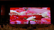 Hot selling small/giant size great price indoor p5/p4/p10 advetising full color video led display screen