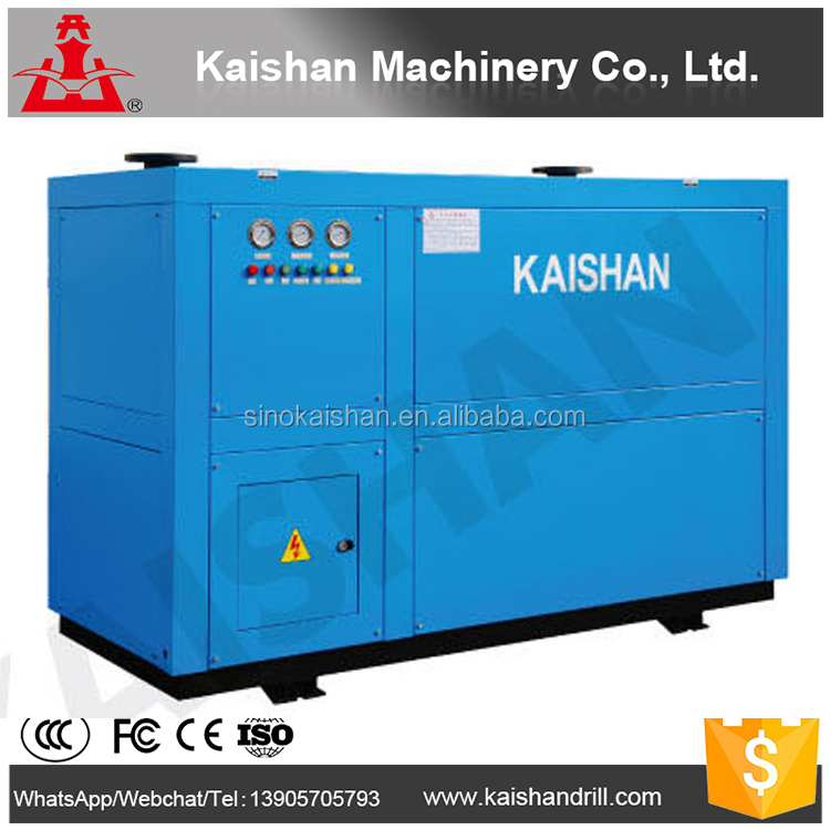 KASD-1HF kaishan turbo refrigerated compressed air dryer, portable hot air compressor dryer