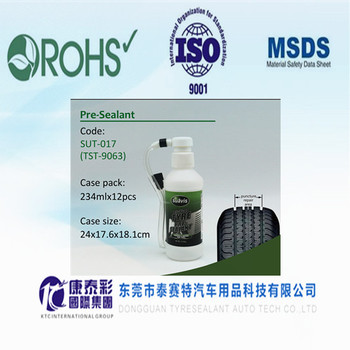 Low temperature vacuum tire Pre-sealant