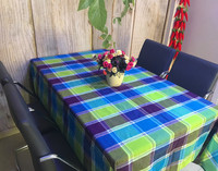 country style rustic cotton tablecloth christmas home table cloth