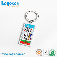 2016 Personalized Metal Cheap Custom Keychains