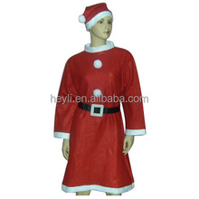 Hot sale high quality red christmas dress for women