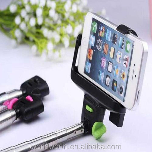 2014 monopod with phone holder Z07-5 monopod for mobile phone tripod monopod