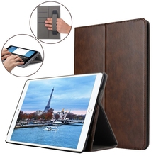 For iPad Pro 10.5 Cover, Leather Flip Hand Strap Multifunction Card Pocket Stand Case Cover For Apple iPad Pro 10.5 Inch
