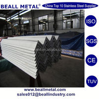409 410 420 430 stainless steel ss perforated angle bar manufacturer