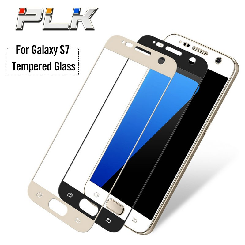 Mobile Accessories 3D Tempered Glass Screen Protector for Samsung s7 Edge, 9H Milo Tempered Glass Screen Protector/