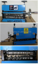 MSY-40DMG scrap wire peeling machines, cable stripper cable cutting machine
