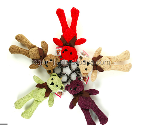 ICTI Create Your Own CE EN71 Plush Toy Fashion Custom Plush Keychain