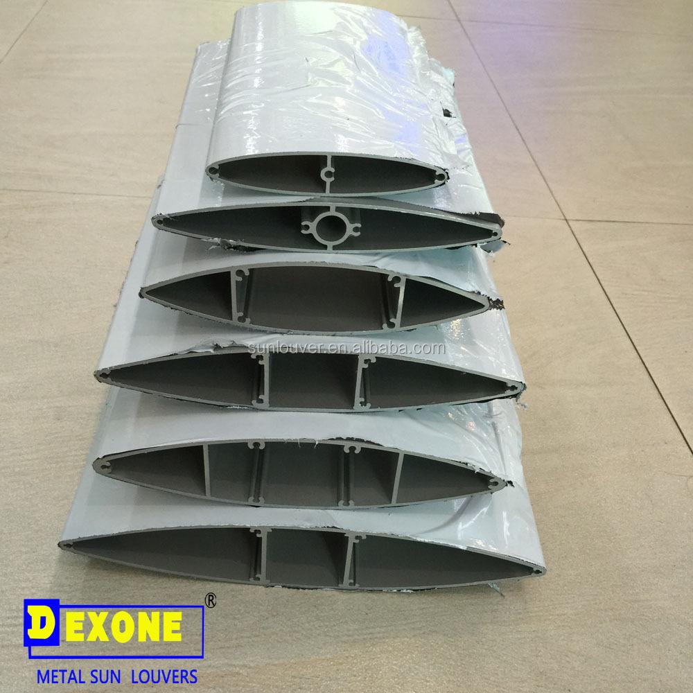 airfoil aerofoil aluminum profile louver blade buy. Black Bedroom Furniture Sets. Home Design Ideas