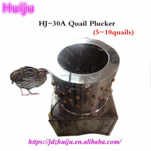 Newest Fashion Food Chicken Processing Equipment quail feather cleaning machine HJ-30A