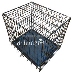 Multiple Sizes Dog Folding Steel Crate Animal Playpen Wire Metal Dog Cage, Dog Crate, Dog Kennel