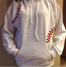 Wholesale Monogrammed Softball Stitching Hoodie