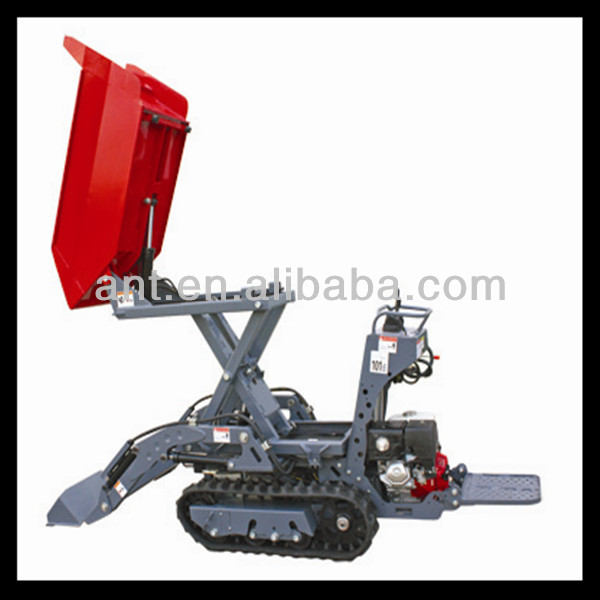 13hp gasoline/diesel engine powered tracked loader BY800