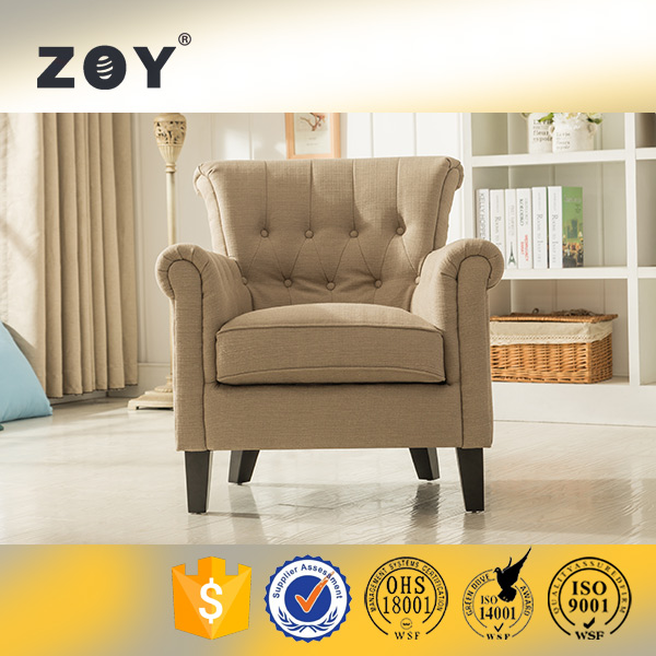 Modern Fabric Accent Chairs Waiting Room Furniture ZOY