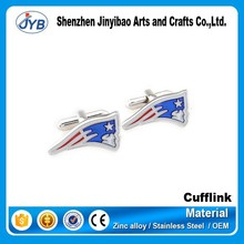 flag shaped usa cufflinks replica