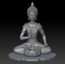 3D design resin game character statue/plastic buddha statue