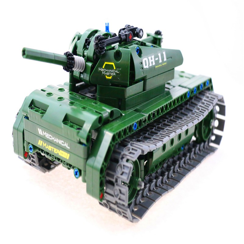 Chinatopwin Newest 2.4g 4ch R/C battle military diy tank toy RET438011