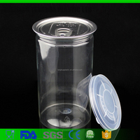 Plastic Easy Open End PET Can