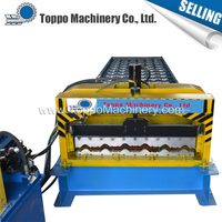 NEW construction glazed tile arch sheet roll forming machine